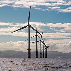 North Hoyle Off Shore Wind Generator Alarmy