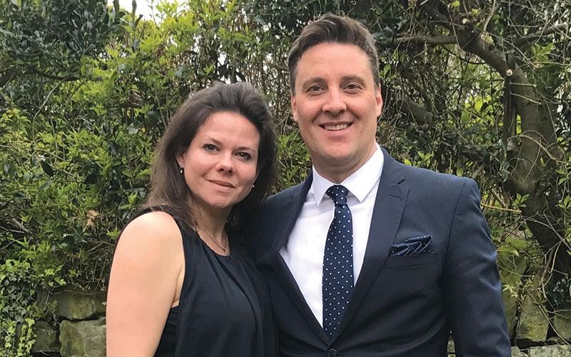 Rachel & Jonathan Wormald