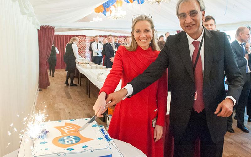 EIC anniversary cake
